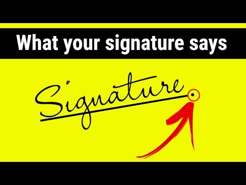 What your handwriting says about you | Graphology Signature analysis in Hindi | signature says about