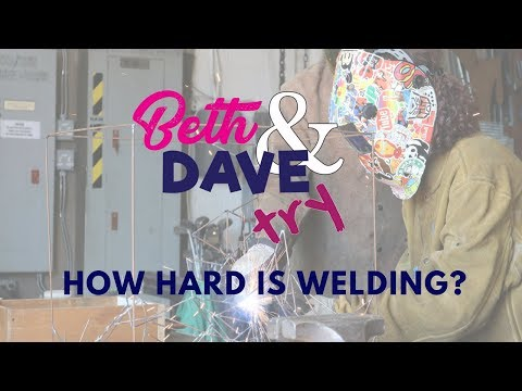 Beth & Dave Try Welding at Utica's Sculpture Space with Idoolocal