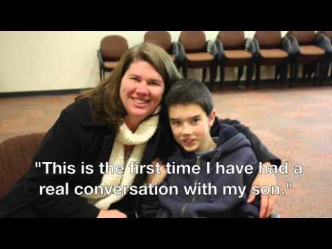 Autistic children improve eye contact in 5 days