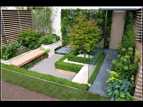Small Garden Ideas in Front of House Design