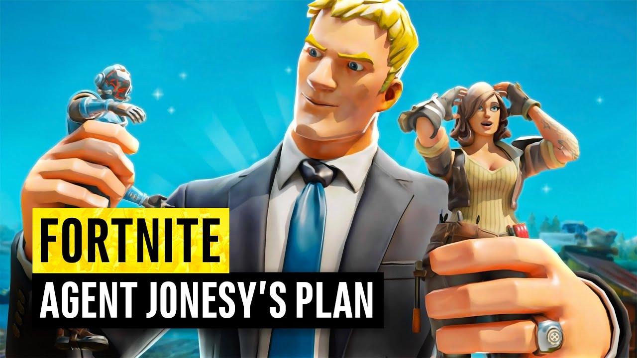 Fortnite | Agent Jonesy's Secret Plans (John Jones Theories)