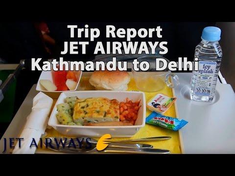 Trip Report : Jet Airways | Kathmandu to Delhi | KTM-DEL | B737-800 | Himalayas window view | 9W0263