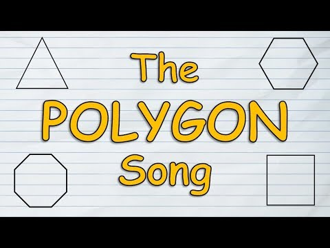 The Polygon Song | Polygons for Kids | Polygons Geometry | Silly School Songs