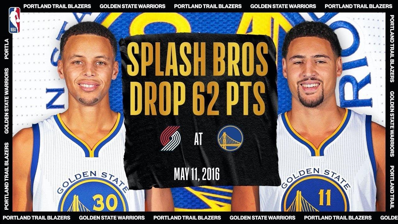 Splash Bros Combine For 62-PT Night | #NBATogetherLive Classic Game