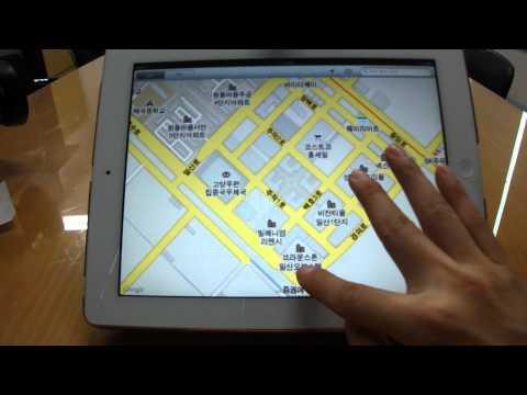 Apple iPad2 Tablet - Google MAPS -