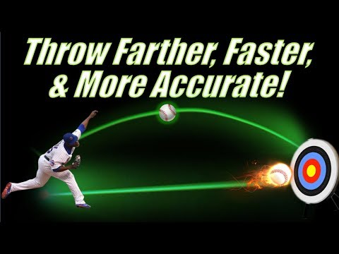 4 ways to throw a baseball farther, faster, and more accurate!