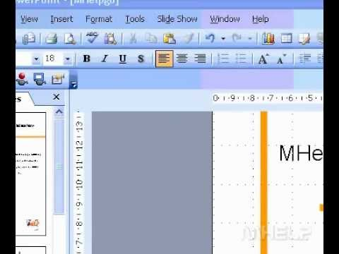 Microsoft Office PowerPoint 2003 Show hide, or change the list of recently used presentations