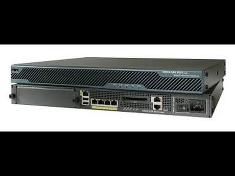 How to Setup a New Cisco ASA 5510 using the Management Console and Cisco ASDM Software.