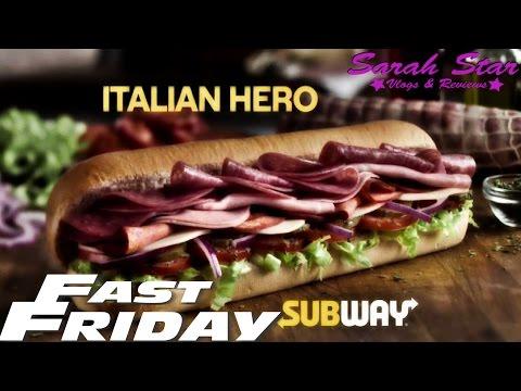 Subway New Italian Hero Sandwich