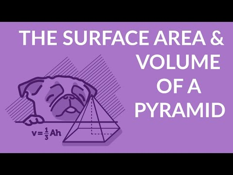 ʕ•ᴥ•ʔ Surface Area and Volume of a Pyramid - Formula and Example