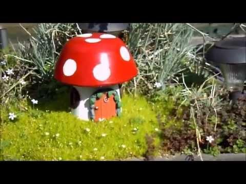 Fairy House - Make a Magical Garden with a Hand Made Solar Light Up Fairy Home
