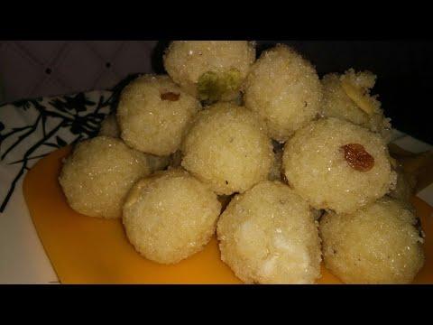 rava laddu/ ರವೆ ಉಂಡೆ/rave unde /sojji laddu