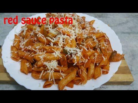 Red sauce pasta [HIndi]  | Pasta recipe [ Eng Sub] | how to make pasta | quick pasta recipe