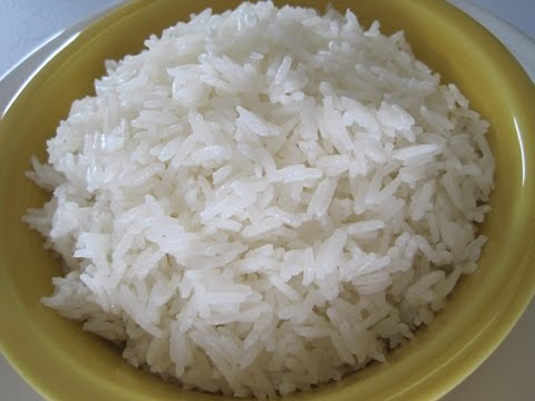 JASMINE RICE - How to make Perfect JASMINE RICE Instructions