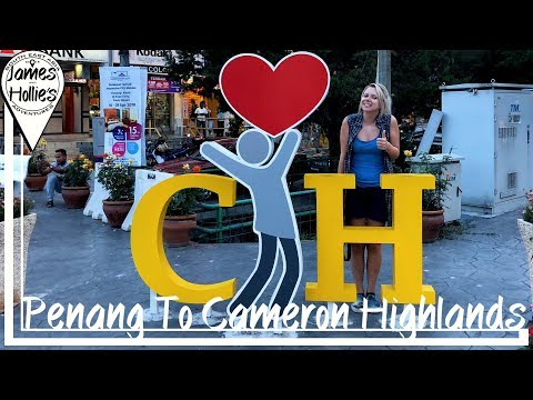 NOWHERE TO STAY WHEN TRAVELING | Penang to Cameron Highlands | BARBSTER360 Travel Vlog