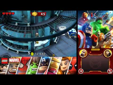 LEGO Marvel Super Heroes: Universe in Peril 100% Freeplay Guide - Chapter 3 - Oscorp