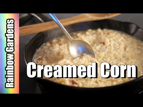 Southern Creamed Corn Recipe - How to Make Creamed Corn