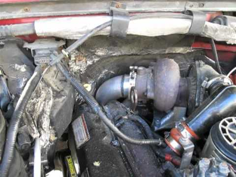 1996 Powerstroke down pipe and stack install