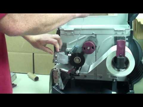 How to Change a Ribbon on a Zebra S and Z series Printer