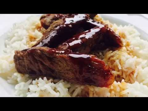 Teriyaki Steak made from a Slow Cooker