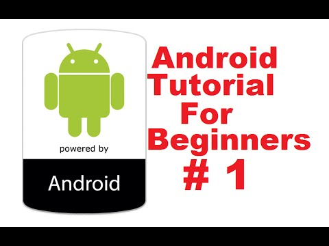 Android Tutorial for Beginners 1 # Introduction and Installing and Configuring Java JDK