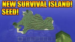 Minecraft Xbox 360 Seed Showcase: Survival Island Water