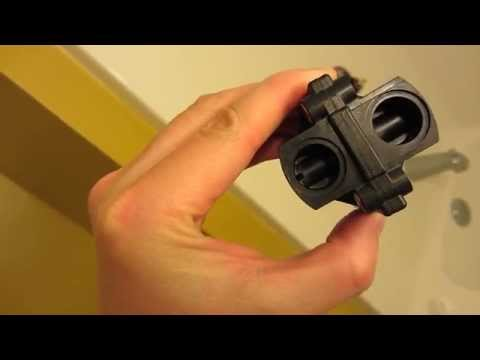 Kohler Shower Repair in HD Part 6 - Compare Old and New Cartridge