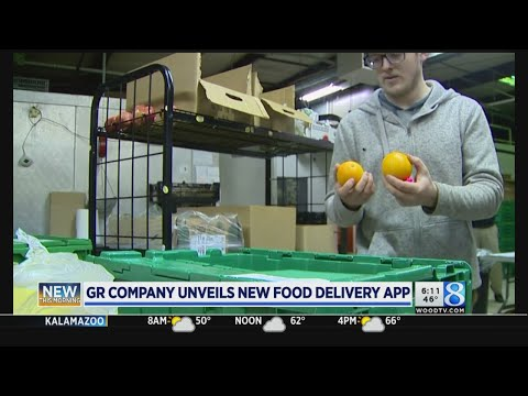 Grocery delivery service launches app, donates to GR charity
