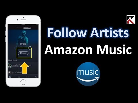 How To Follow An Artist Amazon Music