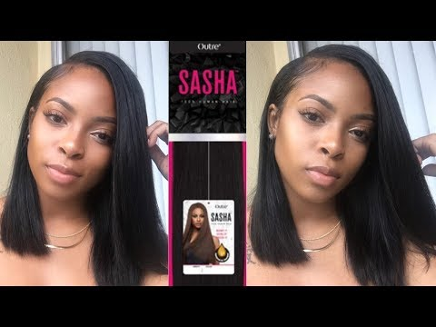 How to: QUICKWEAVE BOB using OUTRE SASHA HAIR