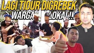 TRAGEDI !!! RAFFI AHMAD PANIK DIBANGUNIN PULUHAN ORANG PAPUA PAGI- PAGI...