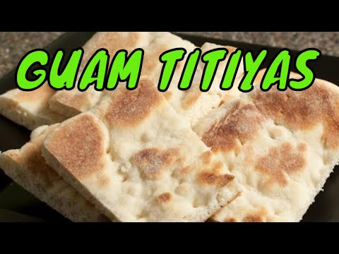 Titiyas or Sweet Griddle Bread