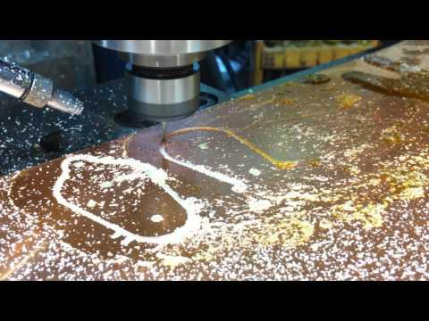 CNC Machining copper sheet