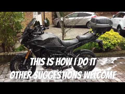 Are you doing it right? How I wash my motorcycle - chain cleaning - winter preparation
