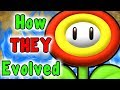 Download Super Mario -  Evolution Of The FIRE, ICE, CLOUD, BOOMERANG And GOLD Flower (Power Ups) MP3,3GP,MP4