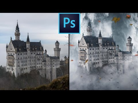 Photoshop CC: How To Create Realistic Clouds