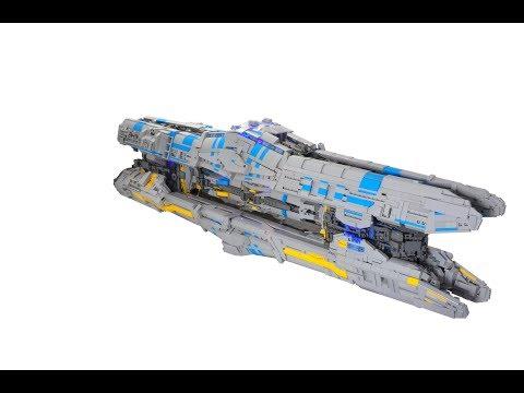 Custom Lego Battleship Instructions Lego Wars