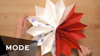 DIY Patriotic Paper Star   Glam It Yourself ★ Glam.com