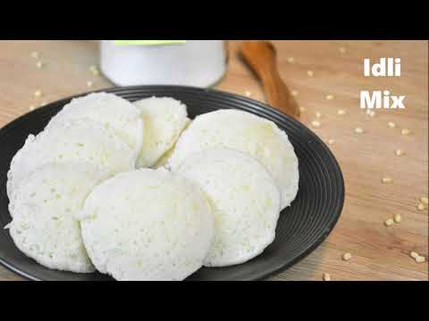 Instant Idli with Homemade Mix | No Soak | Dal And Rice Idli