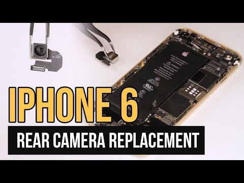 iPhone 6 Rear Camera Replacement Video Guide