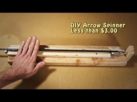 DIY Arrow Spinner