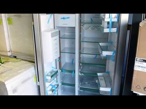 Siemens KA62DS0GB Graded side by side fridge freezer Serial 608543