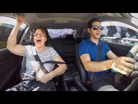 Grandma Reacts to Insane BMW Launch!