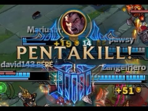 League of Legends - Easy PentaKill with Darius