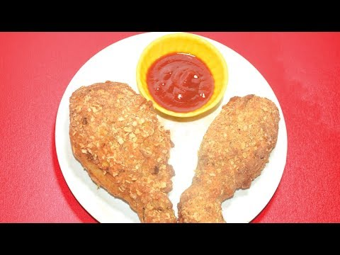 KFC Style Fried Chicken - How To Make Crispy Chicken Drumstick Fry At Home
