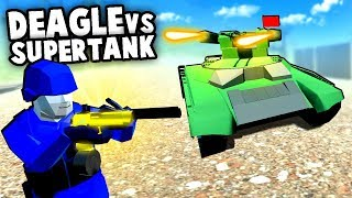GIANT TANK and MICRO HELICOPTER! | Ravenfield Weapon and