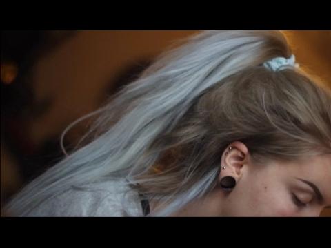Hair Tutorial: Berina A21 Light Gray (but metalic pastel blue)