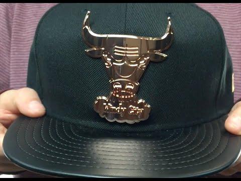 Bulls HWC 'HARDWARE LOGO' Black Fitted Hat by New Era