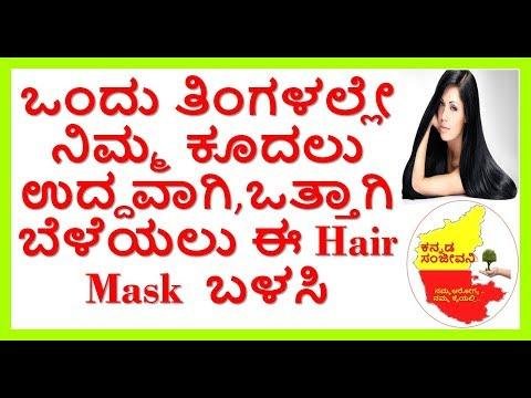 Banana mask for Super Fast Hair Growth...Kannada Sanjeevani..
