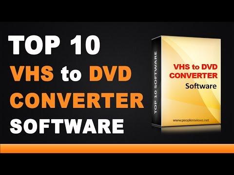Best VHS to DVD Converter Software - Top 10 List